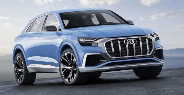 Audi Q8 Concept a stârnit concurența